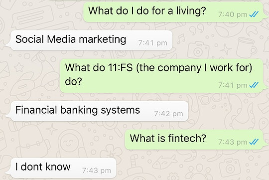Gotta get those financial banking systems in order.