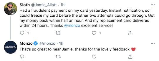 Monzo on Twitter