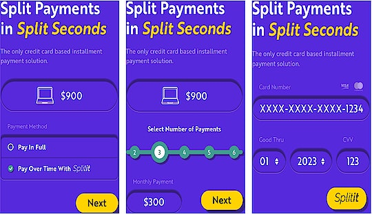 How Splitit works at checkout (Source: Splitit)
