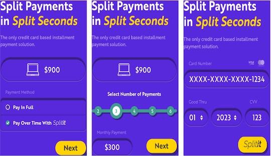 How Splitit works at checkout (Source: Splitit)